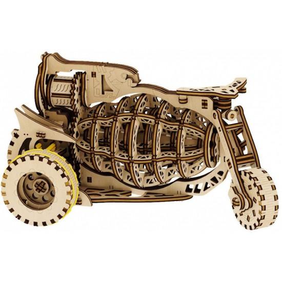 modelbouwset Driewieler 24 cm hout 149-delig
